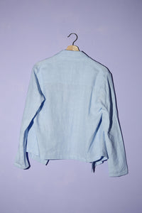 ANTON JACKET IN BLUE - Accidente Con Flores