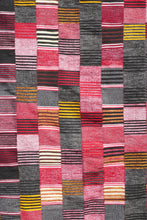 Load image into Gallery viewer, Ewe Kente - Red Yellow Black stripe - 100% SILK SHOP