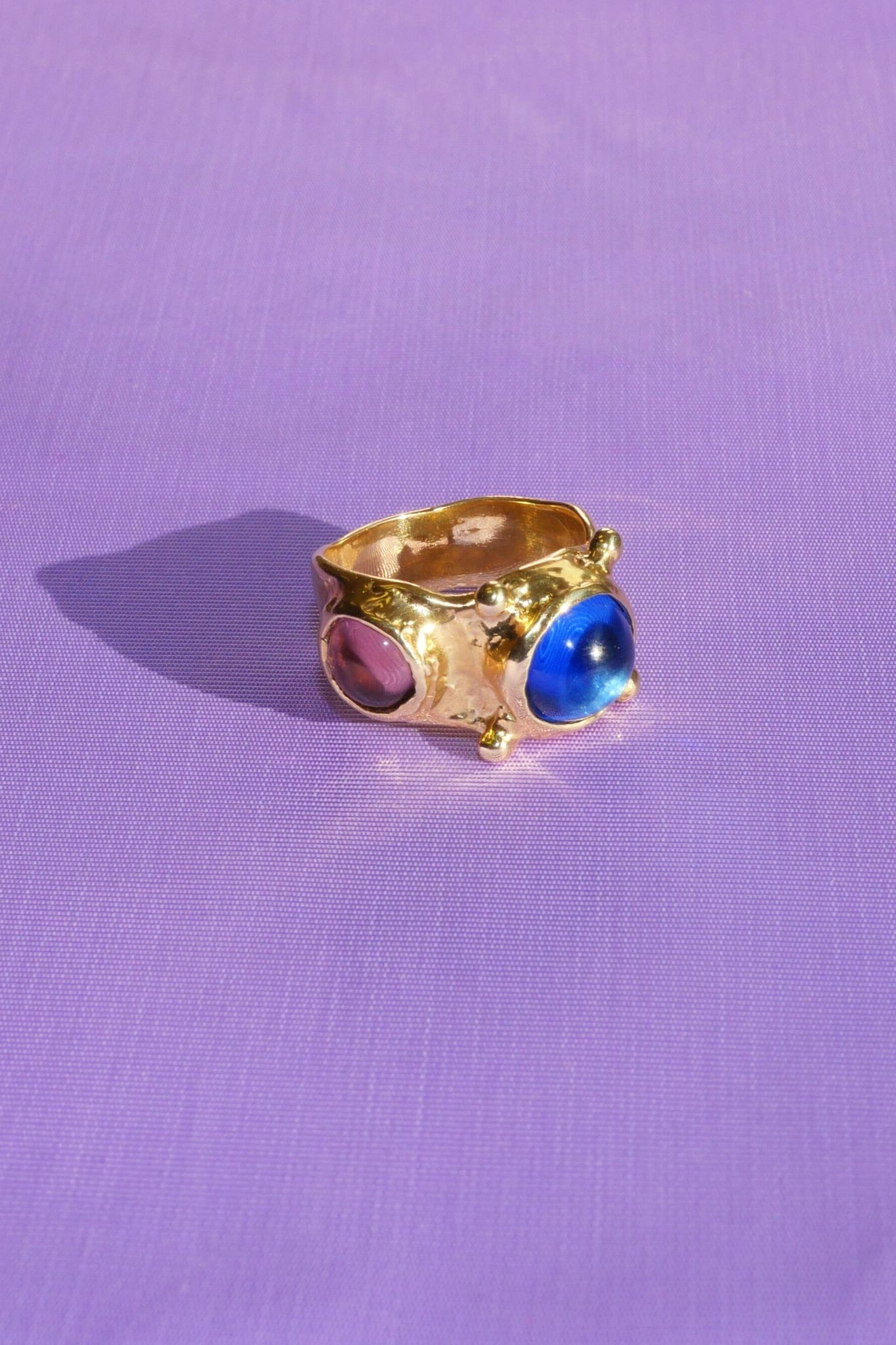 PULP RING IN BLUE/LAVENDER - MONDO MONDO