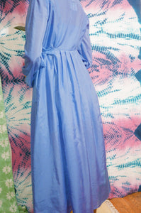BEGUINE DRESS IN BLUE - number sixteen