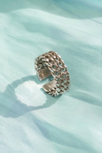 DOUBLE CHAIN RING - Laura Kissed Ashley