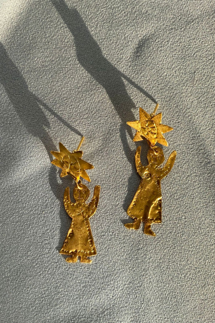 TÊTE DE SOLEIL EARRINGS