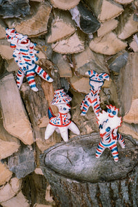TAJIK CLAY WHISTLES - COLLECTION III