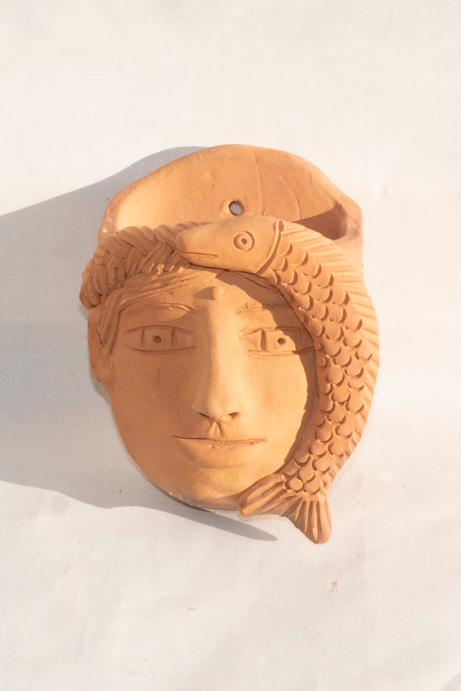 OAXACAN RED CLAY WOMENS FACE PLANTER