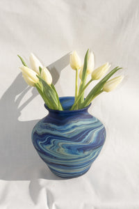 PHOENICIAN GLASS VASES - (MULTI) new - Hebron Glass