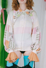 Load image into Gallery viewer, SILK PIERROT BLOUSE