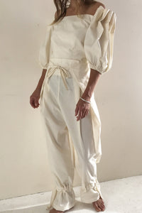 BLOOMERS IN MUSLIN - 100% SILK