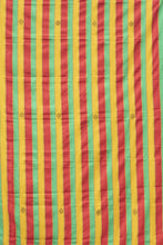 Load image into Gallery viewer, REGGAE STRIPE EWE KENTE - 100% SILK SHOP