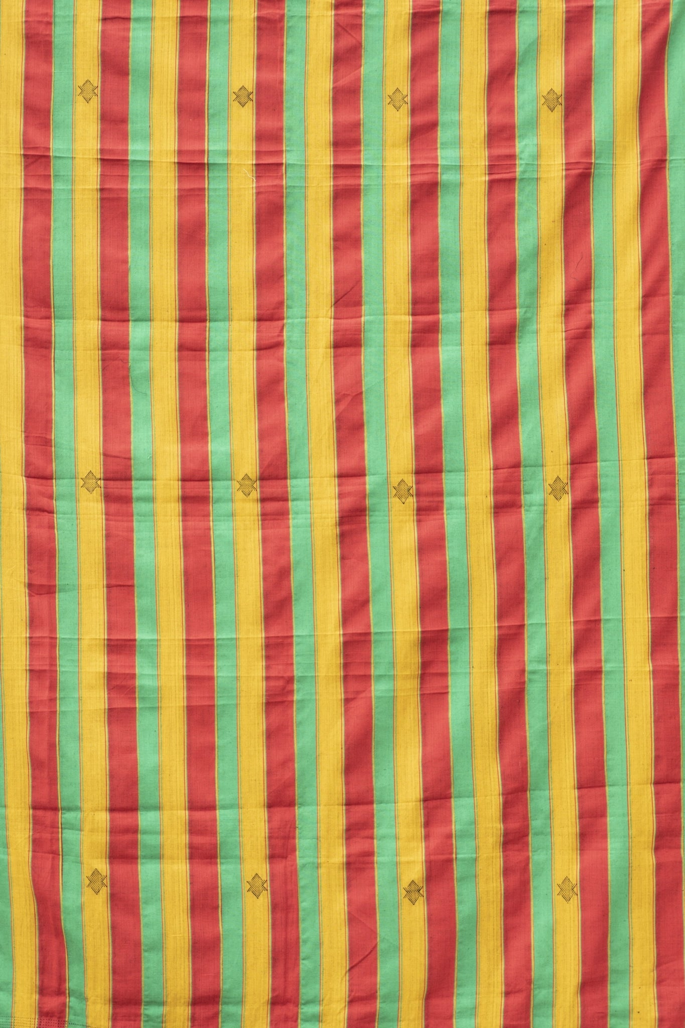 REGGAE STRIPE EWE KENTE - 100% SILK SHOP