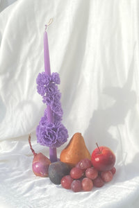 REHILETTE CANDLE IN LILAC - 100% SILK SHOP
