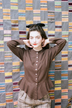Load image into Gallery viewer, ROSA BLOUSE IN CHESTNUT - Town Clothes