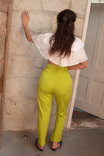 Load image into Gallery viewer, LOTTA PANTS IN LIME