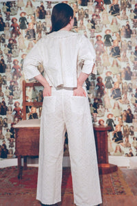 REMY PANTS IN WHITE