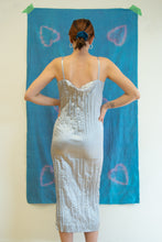 Load image into Gallery viewer, Copy of SATIN CRINKLE DRESS IN SILVER - DÉSIRÉEKLEIN