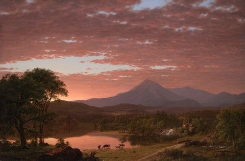 Mt. Ktaadn, painting by Frederic Edwin Church