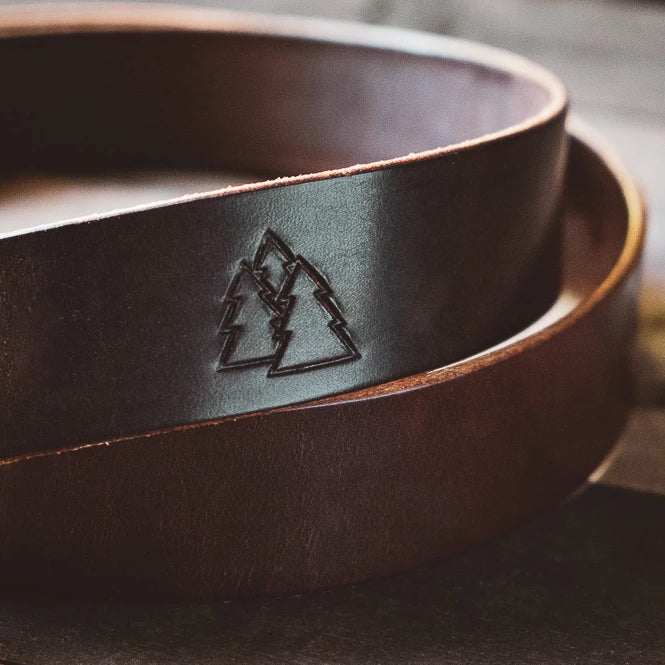 The KIW | Rugged Leather Belt