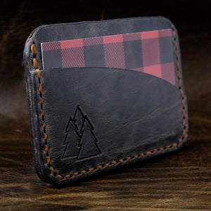 The Caribou | leather mini card wallet
