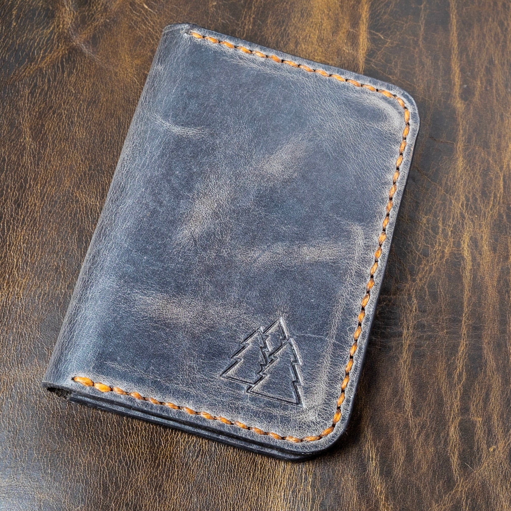 The Katahdin | leather card wallet
