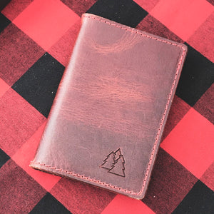 The Brunswick Mid | lined leather Moleskine notebook journal cover