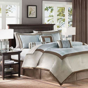 Australia Brown And Blue Bedding