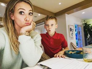 Hilary Duff Trying to Help Her Son with Second Grade Math Is All of Us