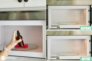 Here Are The 2 Most Effortless Ways To Clean Your Microwave