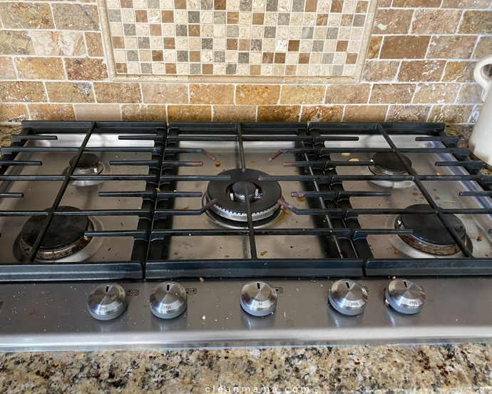 How to Clean a Gas Stove or Cooktop