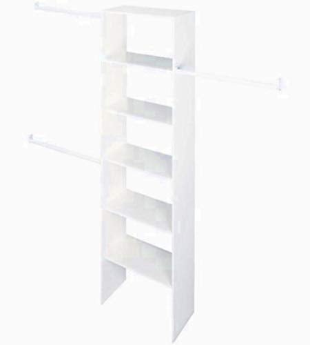 STS SUPPLIES LTD 6 FT Clothing Rack Towel Clothes 3 Hanger Rod Bar Holder Wood Organizer Storage Standing White Drying & Ebook by AllTim3Shopping.