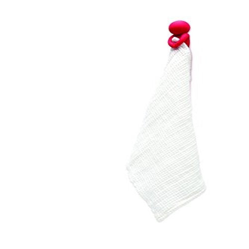 Towel Holder - figure that covers himself using your kitchen towel - Modesto RED