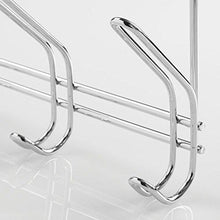 Best seller  interdesign classico over door organizer hooks 6 hook storage rack for coats hats robes or towels chrome