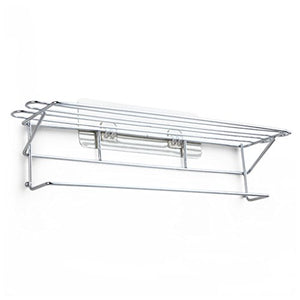 Ping Bu Qing Yun Towel Rack - Stainless Steel, Punch-Free, Double-Layer Bathroom Towel Rack, Suitable for Bathroom, Home -40x11x10cm Towel Rack