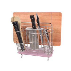 Amazon best miniinthebox multifunction 304 stainless steel kitchen tools shelf chopsticks knife cutting board organizer rack