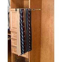 Shop for rev a shelf trc 12sn 12 in satin nickel pull out side mount tie rack