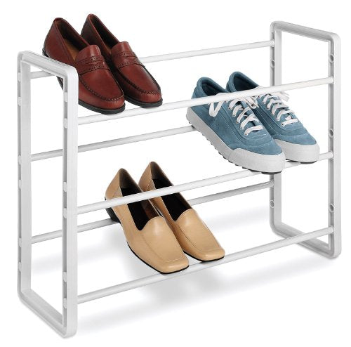 Whitmor Stacking Shoe Rack, 9-Pair