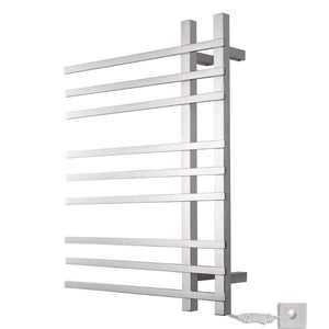 Get dayangiii electric towel rack wall mounted stainless steel heated towel rail 750560120 90w