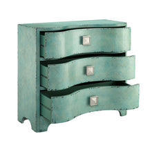 The best madison park fulton accent chest wood living room 3 drawer storage unit cracked antique blue teal antique rustic style floor cabinet