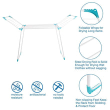 Best drynatural clothes drying rack foldable compact metal laundry drying rack featured extra large size rustproof 67 32 x 21 05 x 44 5
