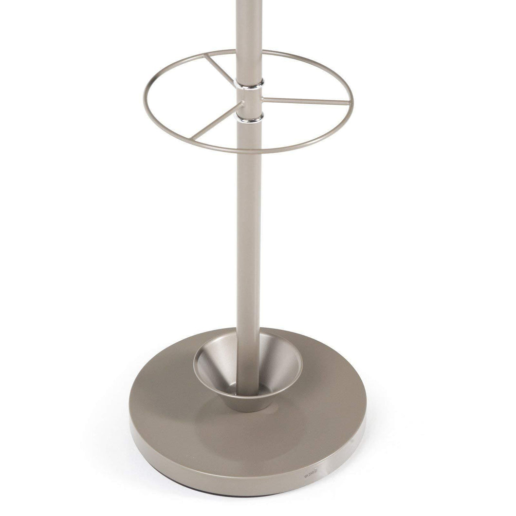 Buy now adesso wk2048 22 quatro umbrella stand coat rack champagne steel