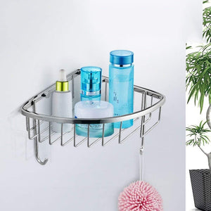 On amazon deed wall hanging mount rack toilet stainless steel pendant set bathroom hardware rack set a total of 4 storage rack l