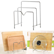 Amazon bestonzon bakeware rack multifunctional stainless steel cookware holders pot lid rack holder organizer cutting board rack pantry rack 3 layers