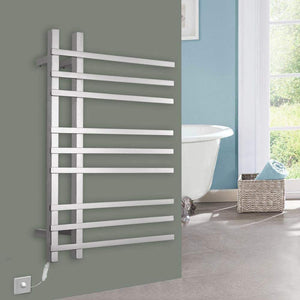Heavy duty dayangiii electric towel rack wall mounted stainless steel heated towel rail 750560120 90w