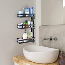 Budget 3 tier wall mounted spice rack organizer kinghouse kitchen bathroom storage organizer spice bottle jars rack holder with adjustable shelf stainless steel