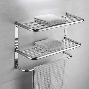 Explore kaileyouxiangongsi 24 inch shelf towel rack stainless steel two tier