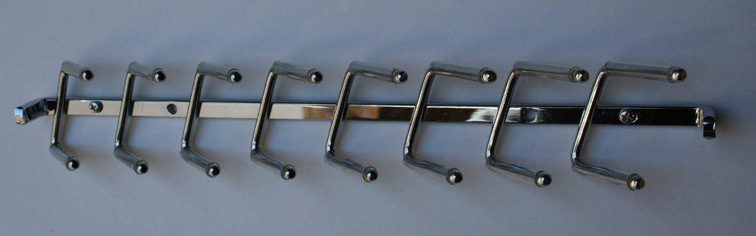 Discover the wall mounted tie rack 14 chrome non sliding