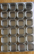Order now petite culinarian ii 12 x 18 magnetic spice rack 24 spice tins choose color choose spice tin size 6 oz brushed stainless steel