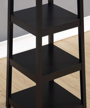 Best seller  roundhill furniture vassen coat rack with 3 tier storage shelves black finish