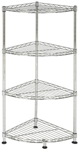 Shop for happimess aleah 4 tier corner storage rack chrome