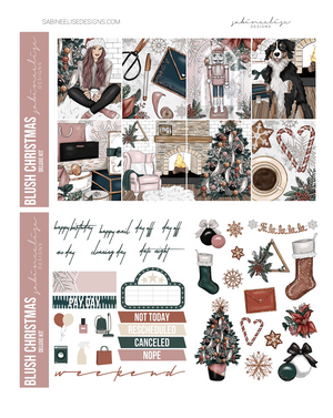 BLUSH CHRISTMAS Weekly Kit