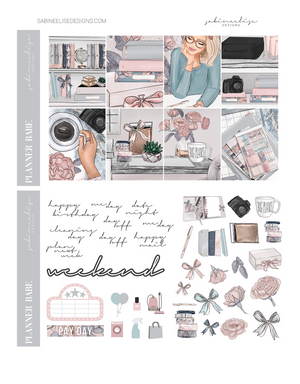 PLANNER BABE Weekly Kit