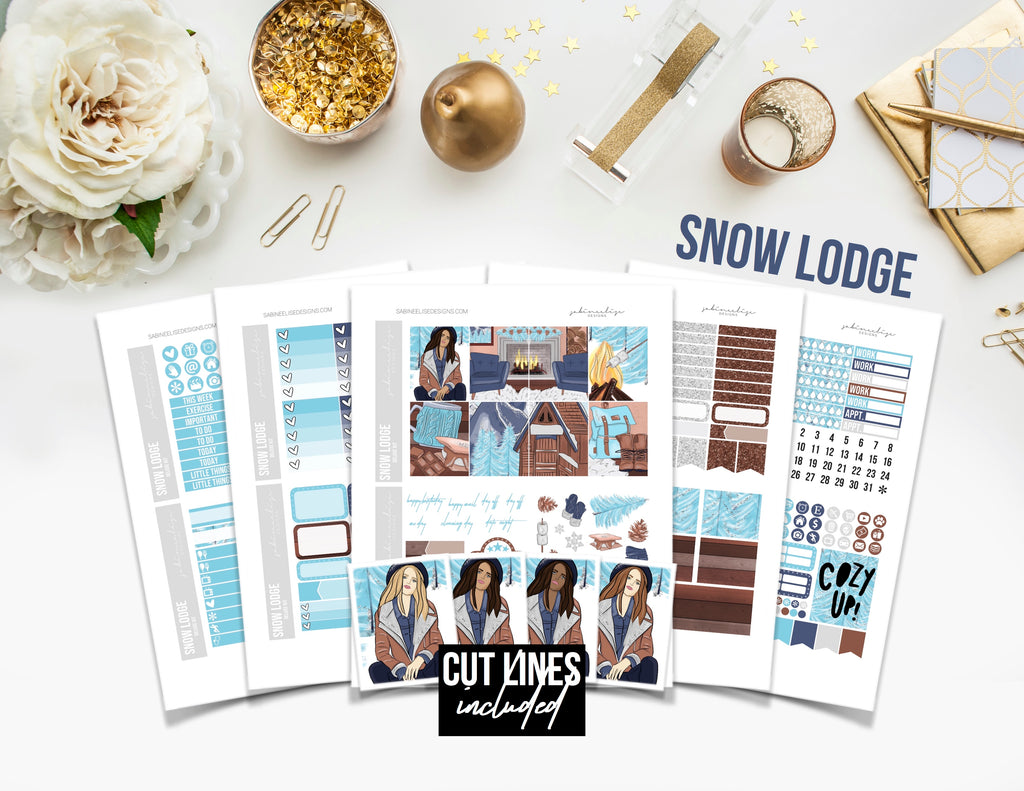 SNOW LODGE Weekly Kit